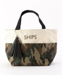 SHIPS WOMEN/ポケットトートバッグ/500249625