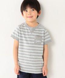 coen/【coen キッズ】スラブ起毛ボーダーTシャツ(100〜150cm)/500208750