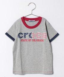 crocs(KIDS WEAR)/星条旗柄ロゴTシャツ/500219284