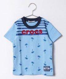 crocs(KIDS WEAR)/ヤシの木柄Tシャツ/500219286