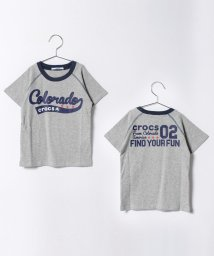 crocs(KIDS WEAR)/ムラ天竺素材Tシャツ/500219287