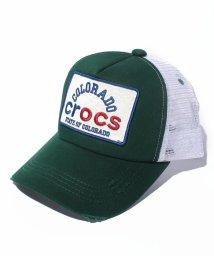 crocs(KIDS WEAR)/ウオッシュ&ダメージ加工キャップ/500219281