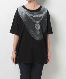 ZUCCa/コラージュプリント Tシャツ/500225507