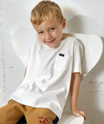 green label relaxing (Kids)/WEB限定【KIDS】LEE(リー) クルーネック ポケットTシャツ/500227606