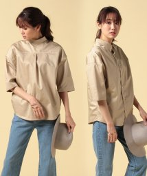 beautiful people/finx cotton satin shirt/500238642