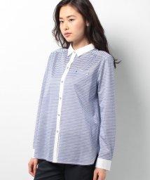 CARA O CRUZ/ボーダークレリックシャツ/10251841N