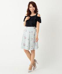MISCH MASCH/レース刺繍スカート/500064118