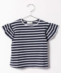 b-ROOM/ボーダーベルスリーブTシャツ/500247461