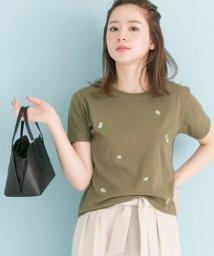 URBAN RESEARCH/小花柄刺繍Tシャツ/500259776
