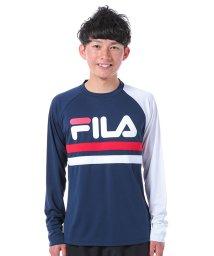FILA/ロゴプリント長袖カットソー/500228010