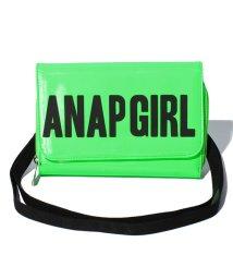 ANAP GiRL/ロゴウォレットショルダー/500246782