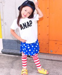 ANAP KIDS/星条旗柄ストレッチスカッツ/500252500