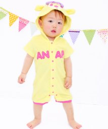 ANAP KIDS/パイル着ぐるみロンパース/500252501