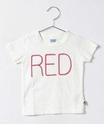 RUGGEDWORKS/カラー半袖Tレッド/500254209