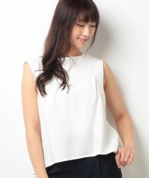 Doux archives /【OP限定価格】バックベルトブラウス/500255881