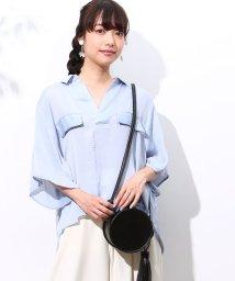 ROPE' PICNIC/6分袖抜け感シャツ/500262915