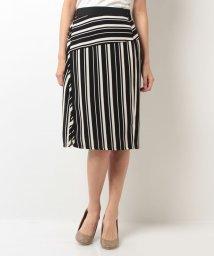 B donna/ランダムストライプスカート/500253585