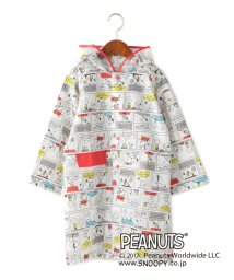 green label relaxing (Kids)/PEANUTSコミックレインコート/500228264