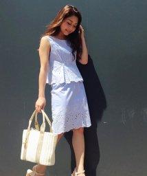 31 Sons de mode/裾レース刺繍トップス&スカート【セットアイテム】/500270094