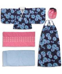apres les cours/女の子タイル花柄浴衣セット/500264260