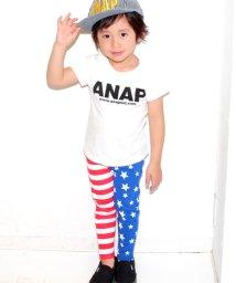 ANAP KIDS/星条旗柄ストレッチパンツ/500258227