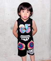 ANAP KIDS/タイダイナンバリングフーディー SETUP/500260861