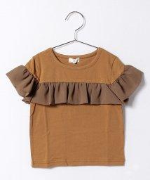 b-ROOM/シフォンフリル半袖Tシャツ/500261661