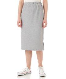 NATURAL BEAUTY BASIC/《BLUE》デニムライクポンチタイトスカート/500275160