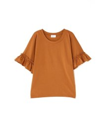 PROPORTION BODY DRESSING/《BLANCHIC》天竺フリル袖カットソー/500275168