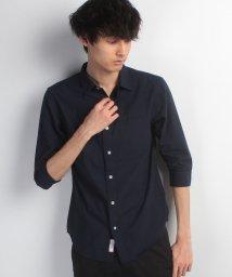 JNSJNM/【FORT POINT】7分袖 COOLMAX リネンシャツ/500255180