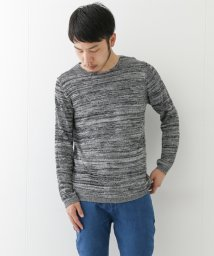 URBAN RESEARCH/【WAREHOUSE】麻感糸クルーネックL/Sニット/500258036