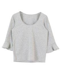 titivate/フレアスリーブTシャツ/500282980