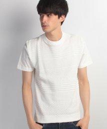 JNSJNM/【BLUE STANDARD】ニット切り替えTシャツ/500267866
