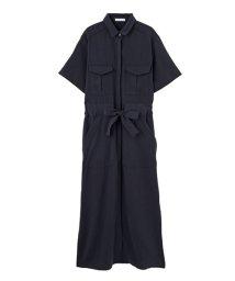 STYLE DELI/【LUXE】ウエストマークロングシャツドレス/500264151