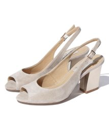 INTER-CHAUSSURES IMPORT/【ABOVE AND BEYOND】バックバンドチャンキーヒールサンダル/500277359