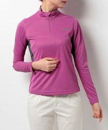 Alpine DESIGN/アルパインデザイン/レディス/ジップアップ長袖シャツ/500291656