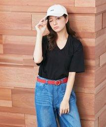 INGNI/ポケット付VネックTシャツ/500257878