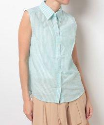 Eimy Peal by POWDER SUGAR/リネンノースリSTPシャツ/500273376