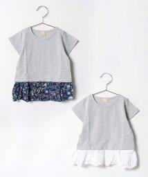 petit main/裾取り外しTシャツ/500277008