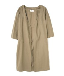 PROPORTION BODY DRESSING/《BLANCHIC》麻ガウン/500295094