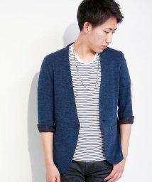 NICOLE CLUB FOR MEN/7分袖ノーカーラージャケット/500239798
