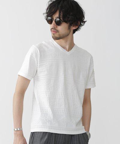 リンクスVネックTシャツS/S