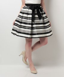 Noela/ボリュームサマーボーダースカート/500279995
