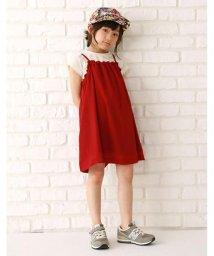b-ROOM/楊柳キャミワンピース×Tシャツセット/500284529