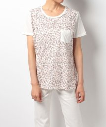 TOMMY HILFIGER WOMEN/AC RAE FLORAL PKT TEE SS/500290323