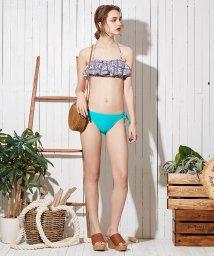 SEA DRESS/エスニックタイル柄フレアバンドゥビキニ/500303311