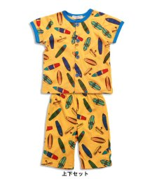 ampersand / F.O.KIDS MART/Boy'sサーフ総柄PT前開き半袖パジャマ/500273504
