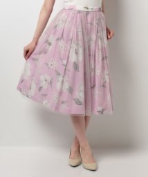 Noela/【美人百花9月号掲載】オリジナルサマーフラワー2WAYスカート/500279991