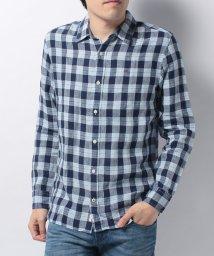 HILFIGER DENIM/ECL linen check shirt l/s 38/500281130