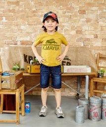 KRIFF MAYER(Kids)/ブランドロゴ半袖TEE(140〜160cm)/500287199